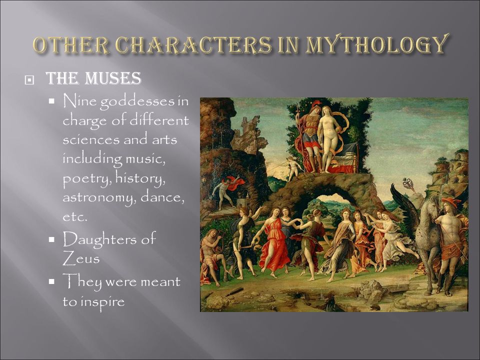Other characters in Mythology