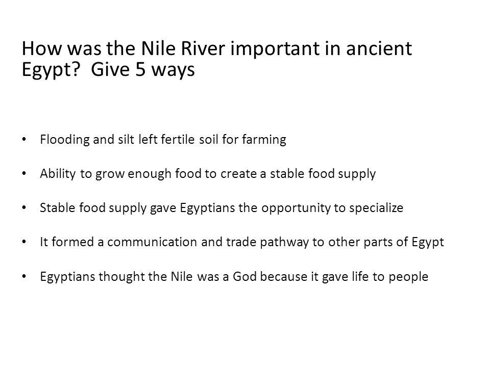 Ancient Egypt Quiz Quiz Trade Ppt Video Online Download - River quiz