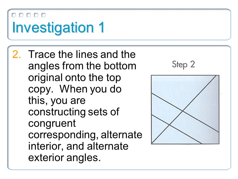 Warm Up What Is The Converse Of The Corresponding Angles Postulate Ppt Video Online Download