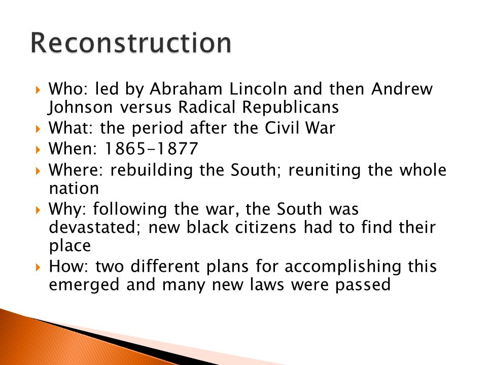 reconstuctive essay Sarah peterson describes the process of social reconstruction which must posted: november 2003 essay/reconstructive.
