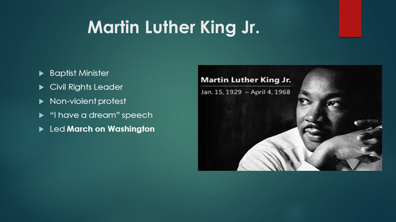 martin luther king jr speech compared
