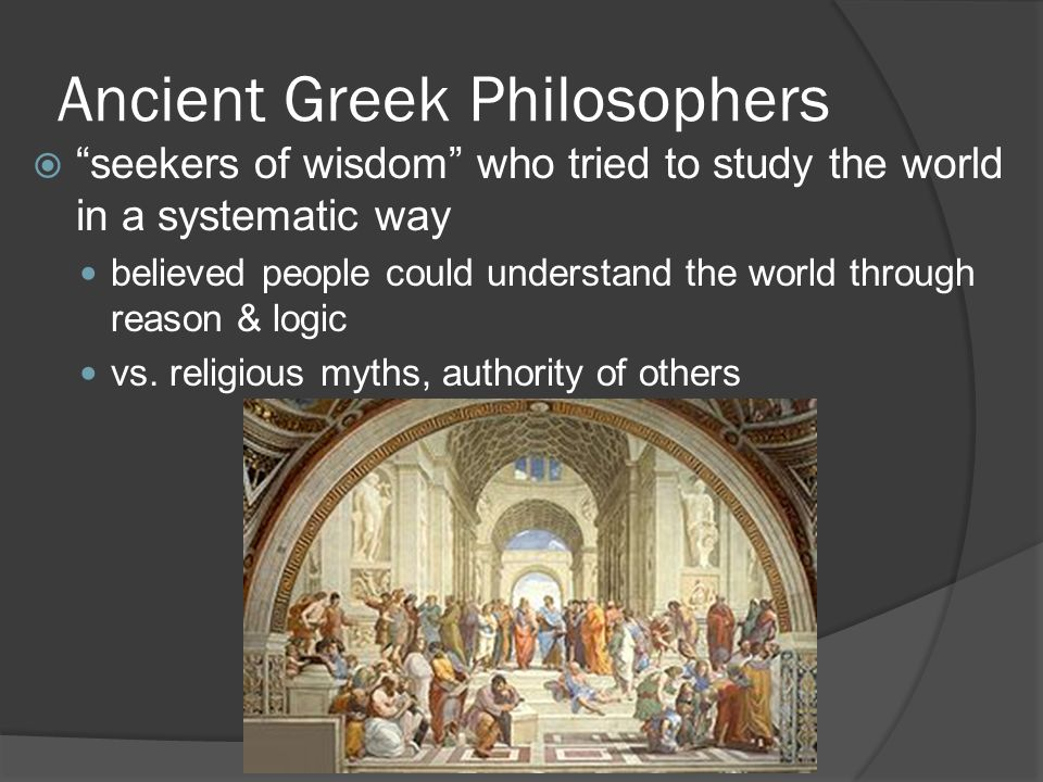 understanding the hellenistic philosophy of the greeks The greeks nurtured the great philosophers and gave the world plato and  in  order to understand the chanukah story, it is necessary to understand the.