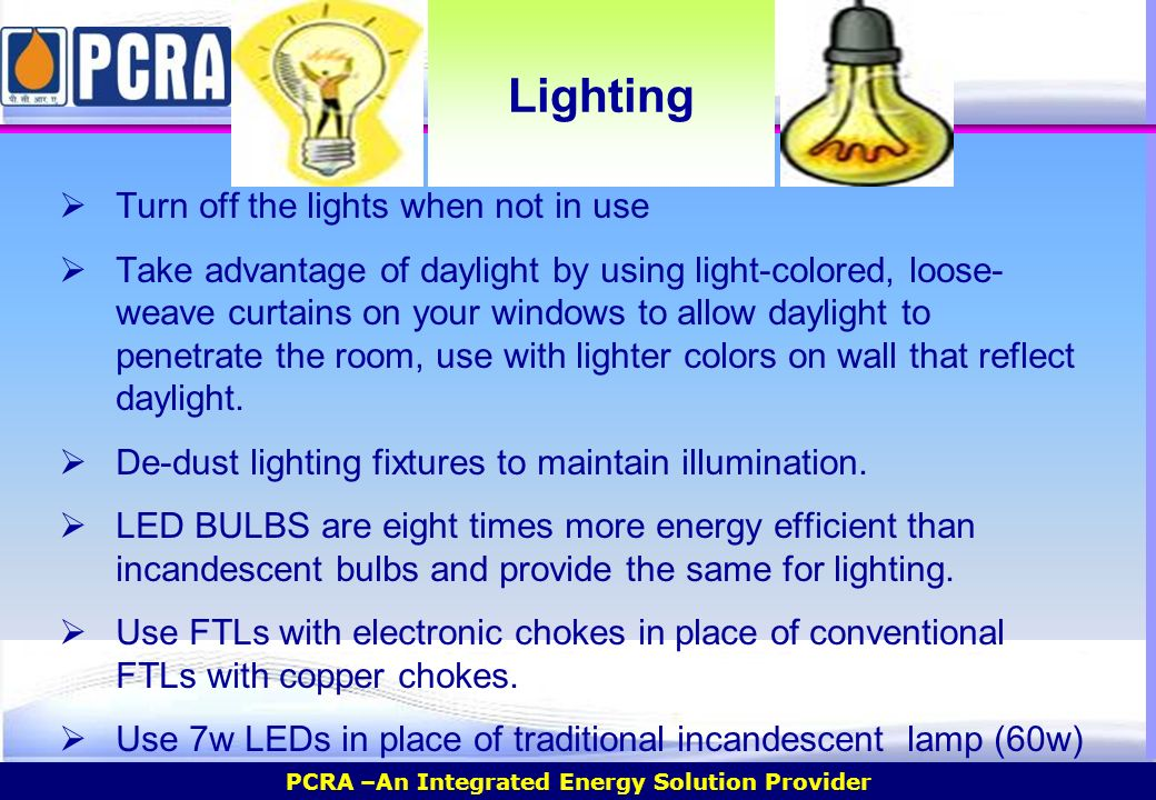 Domestic Workshop on Energy Conservation.