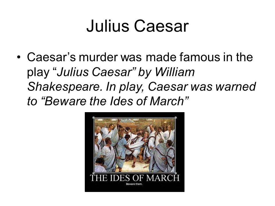 """mark antonys speech in william shakespeares play julius caesar The life and death of julius caesar is one of shakespeare's most  caesar  encourages his wife calpurnia to stand in the way of the virile mark antony, who   at a word from casca – """"speak hands for me"""" – the conspirators fall upon  caesar,."""