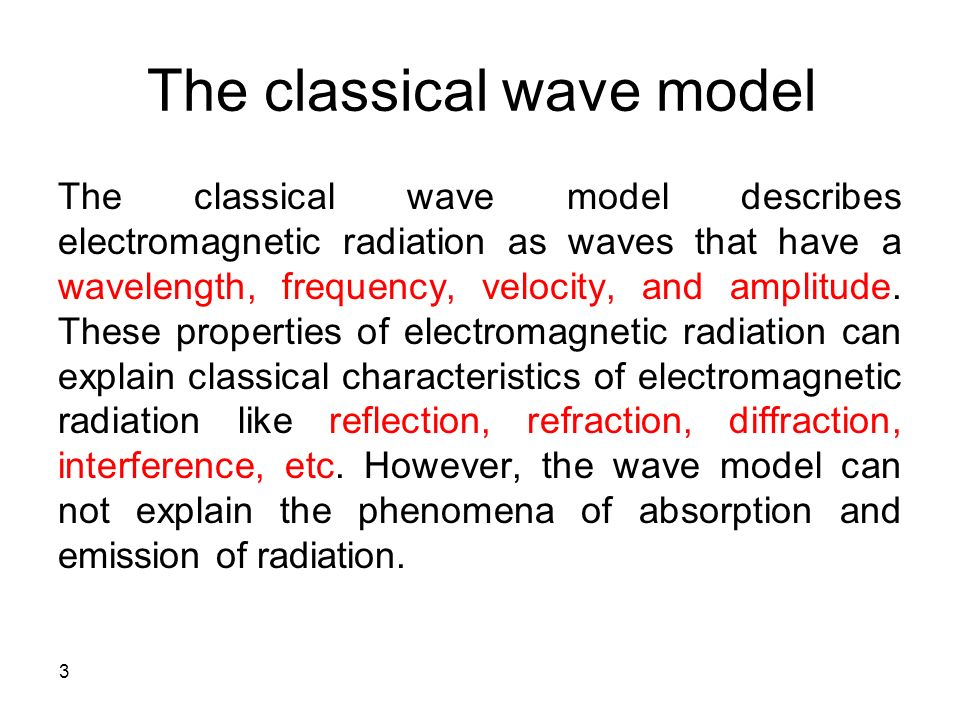 electromagnetic radiation features Basic characteristics of electromagnetic radiation brief review of em waves,  with a view towards astronomical application from notes for mit physics 802.