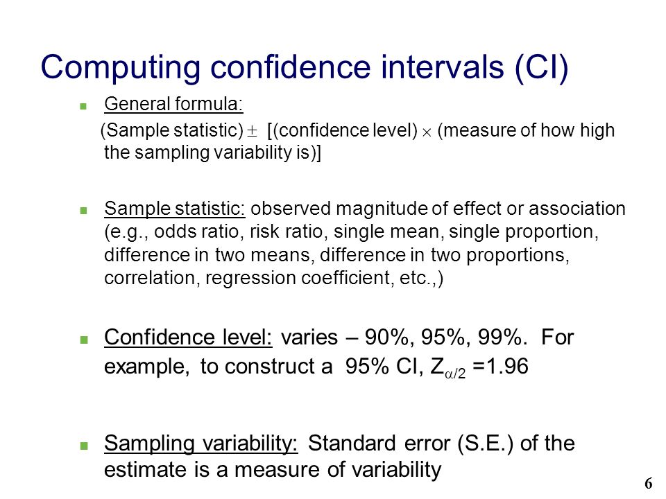 Statistical significance using confidence intervals ppt for T table 99 confidence interval