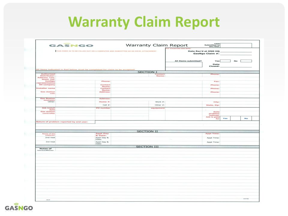 how to make a warranty claim