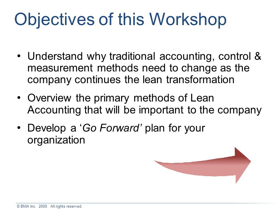 Lean Accounting for the Lean Enterprise 2-Day Workshop - ppt download