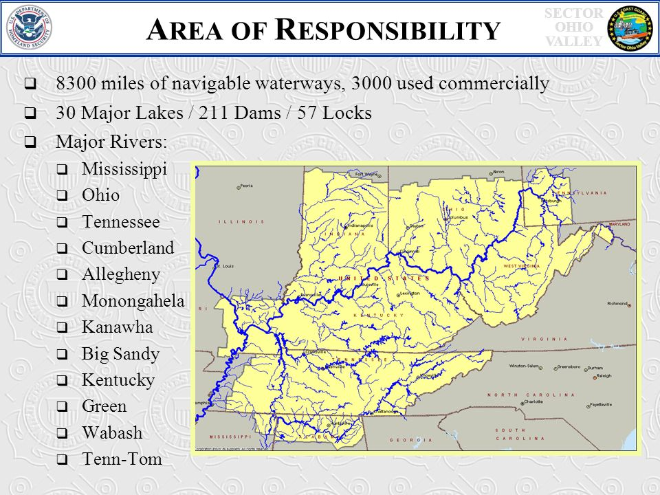Welcome US Coast Guard Response Operations Ppt Video Online - Us navigable waterways map
