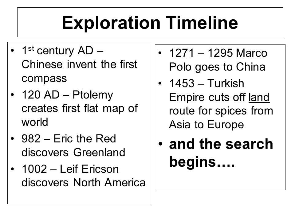 1000 - Leif Eriksson reaches Canada's Labrador and Newfoundland provinces.