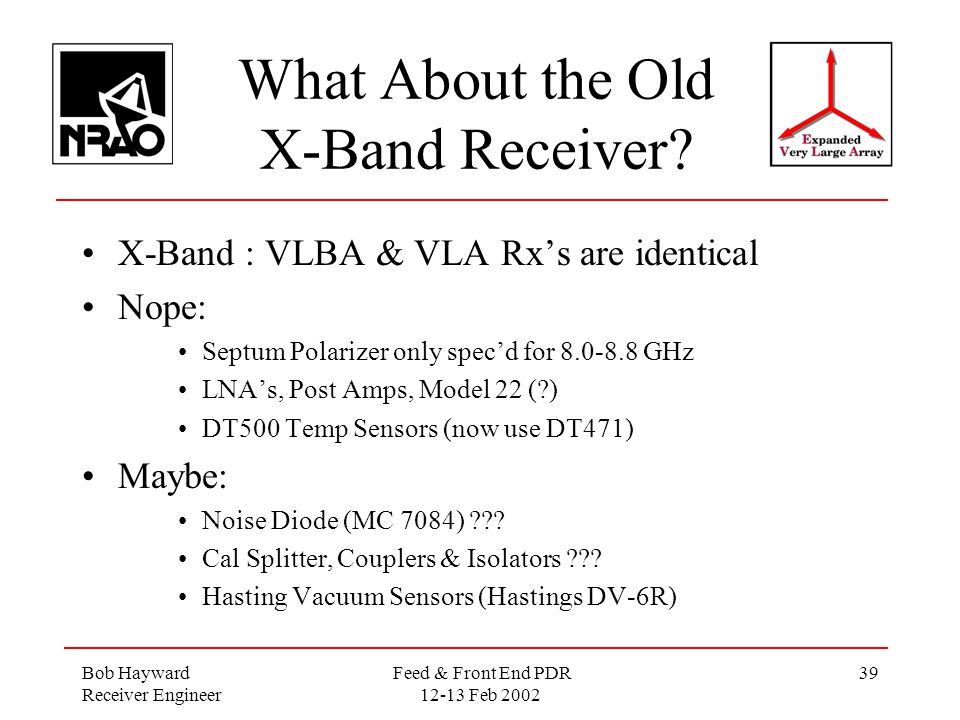Q Ka K Ku Amp X Band Receivers Ppt Video Online Download