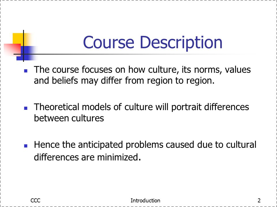 communication and culture coursework presentation Introduction to the course communication, media, culture, and society 20% class participation • 20% midterms • 20% coursework • 40% final examinations • sixty percent (60%) is required as a passing mark for each discussions – lectures, discussions, reports, activities, and presentations.