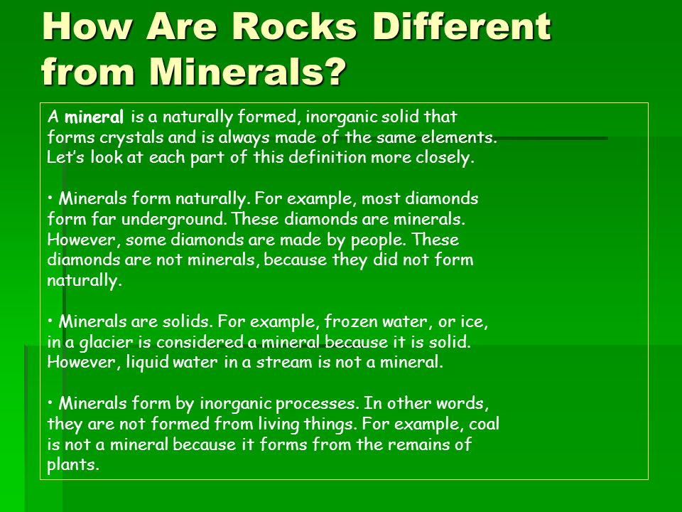 Rock and Mineral Resources - ppt video online download