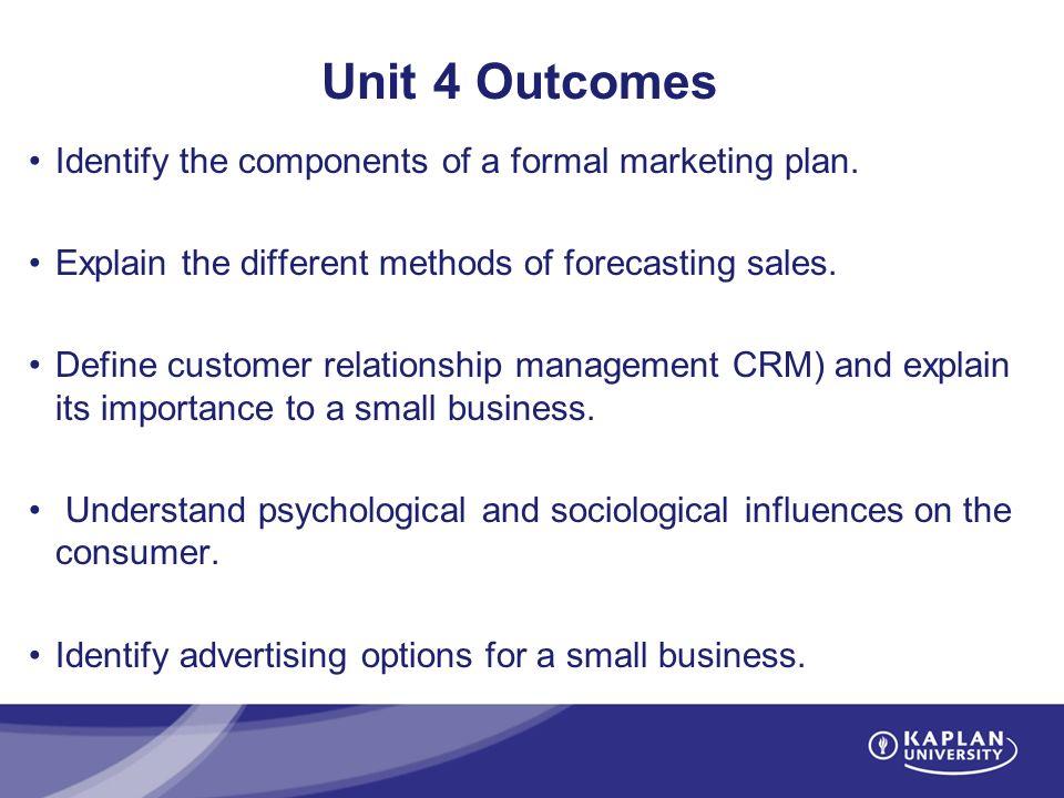 component of marketing plan essay
