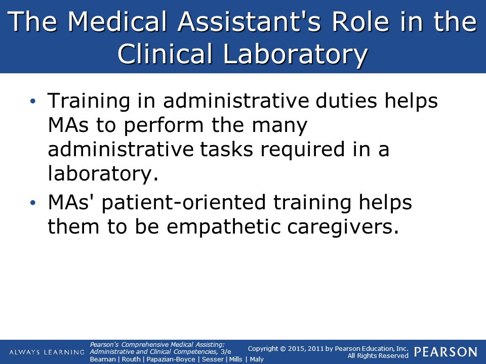 44 The Clinical Laboratory Lesson 1:. - ppt download