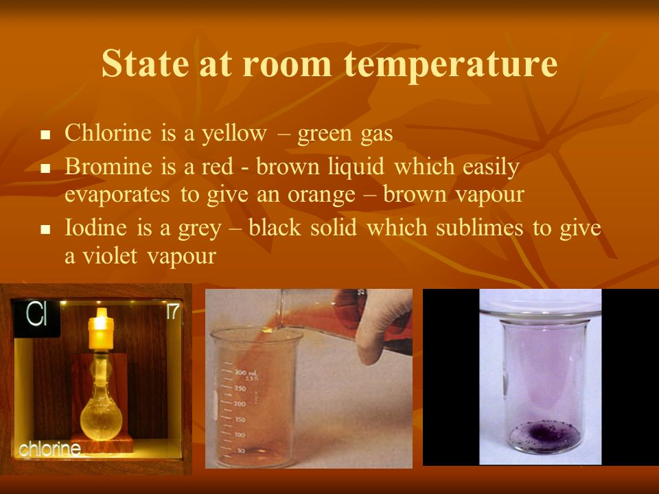 chlorine essay Chlorine clear amber colored liquid, pungent odor most abundant member of the halogen family major building blocks for the chemical, pharmaceutical industries nasa detected chlorinated methane.