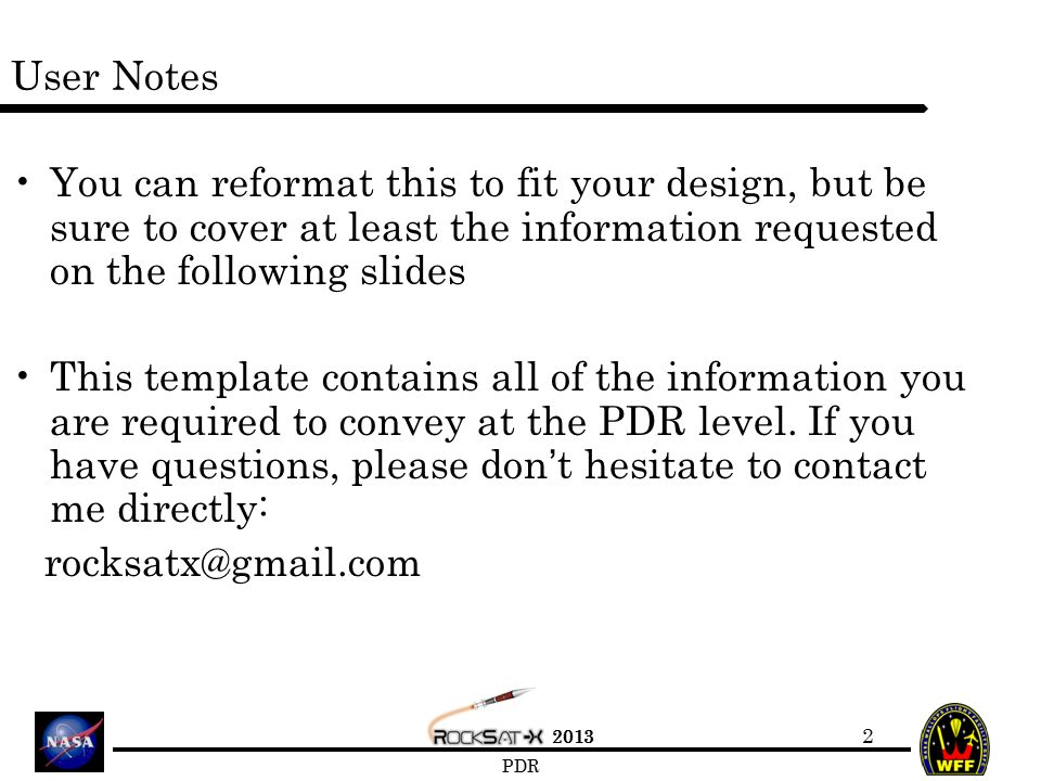 team name preliminary design review - ppt video online download, Presentation templates
