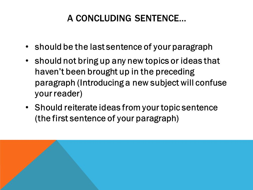 COM150 Week 5 Assignment Topic Sentences and Paragraphs