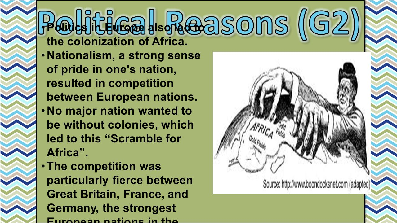 colonization in africa Africa isn't about to crack apart  one tear in the earth is reportedly 15 meters ( 50 feet) deep and 20 meters (66 feet) wide speaking to the.
