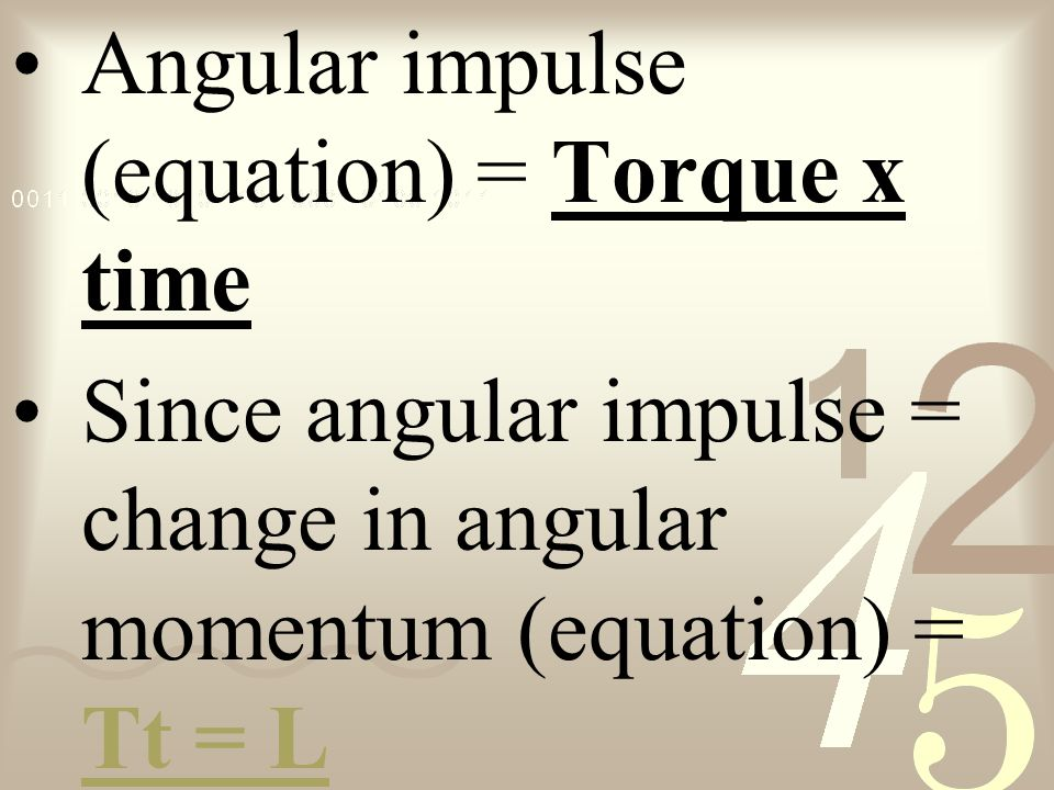 chapter 72 notes angular momentum ppt video online