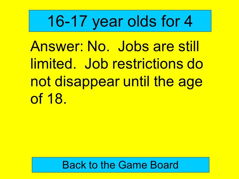 18 and no job