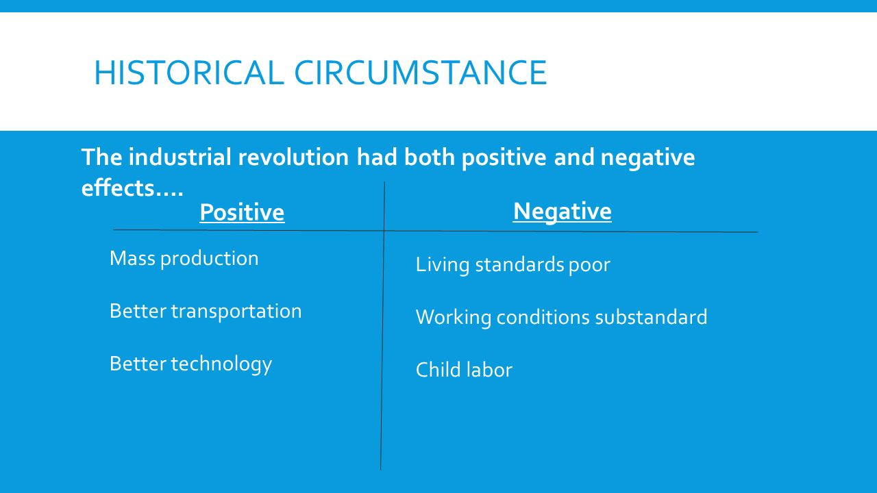 the causes and positive and negative effects of child labor