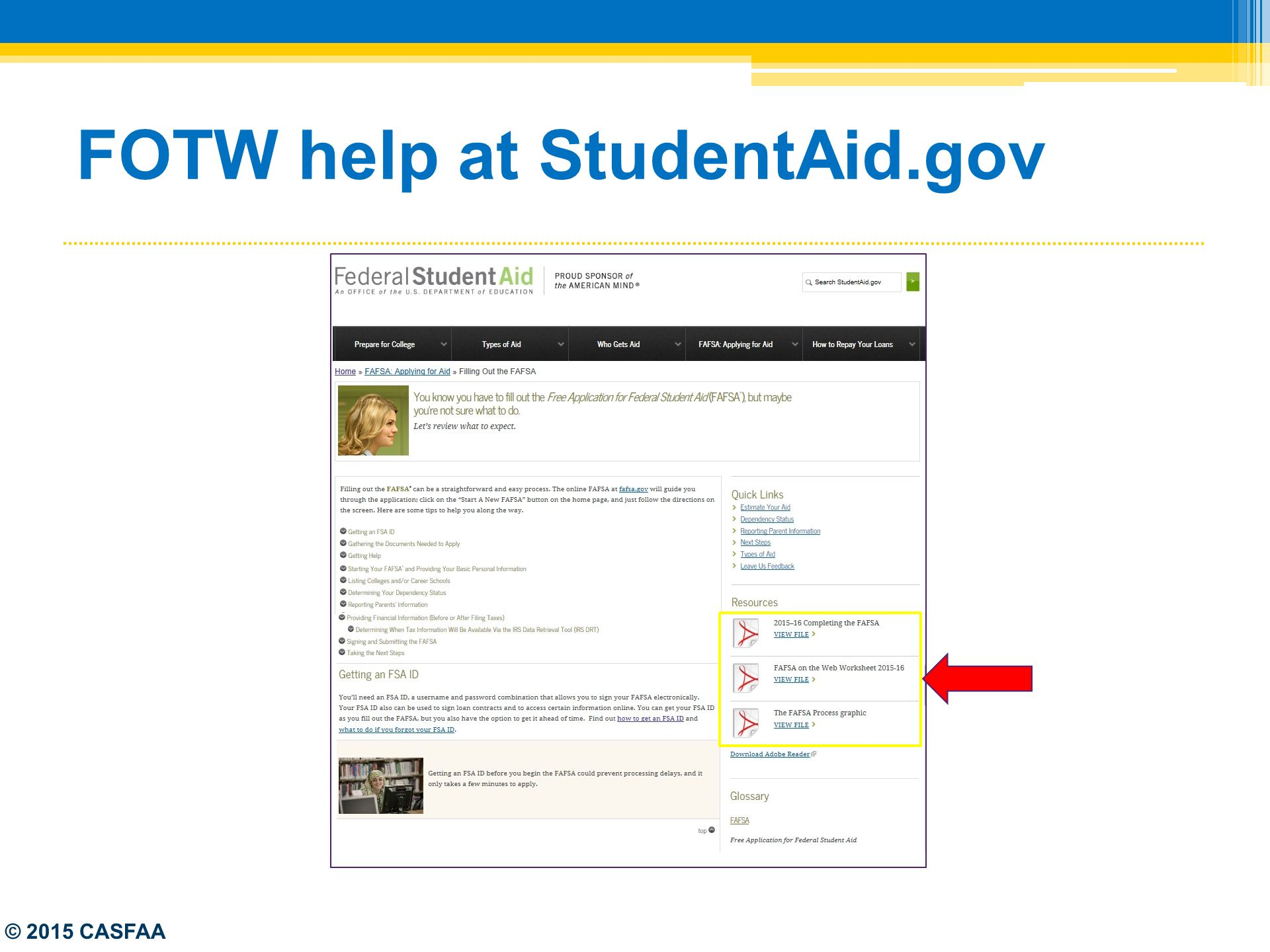 Worksheets Fafsa On The Web Worksheet federal updates the fafsa ppt download 11 fotw