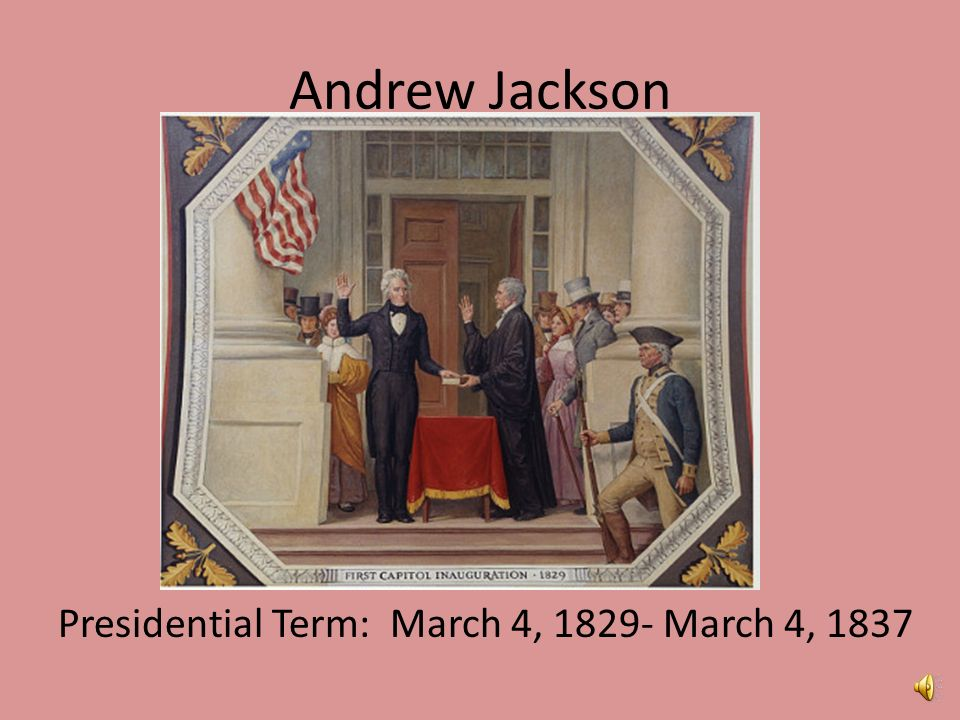 Andrew Jackson: Served Two Terms As US President From 1829-1837 Essay Sample
