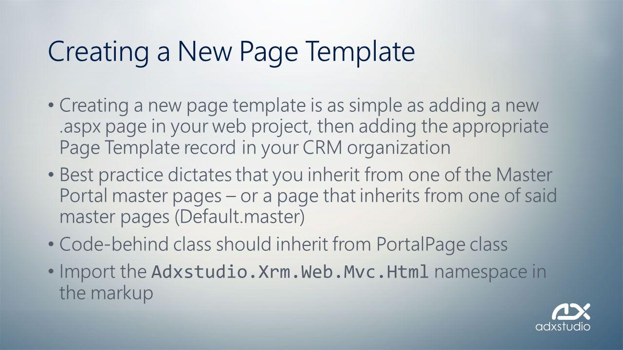 Adxstudio Portals Training - ppt video online download
