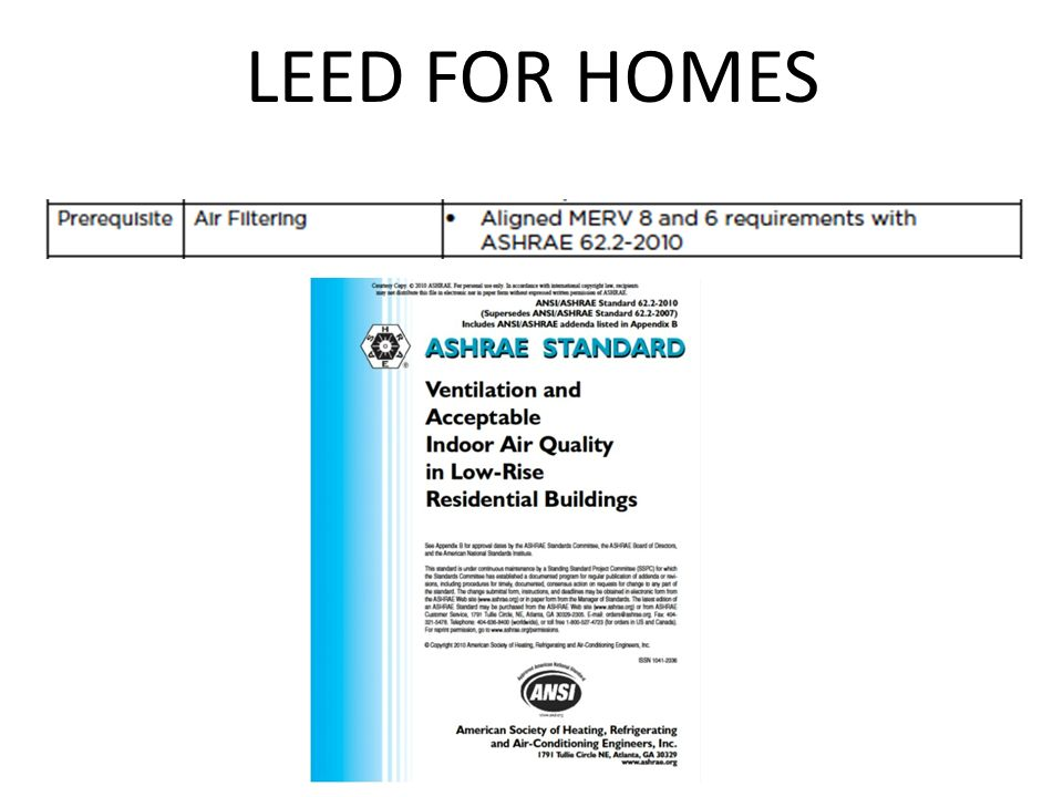 V3 vs v4 new protocols for leed tommy linstroth for Leed for homes provider