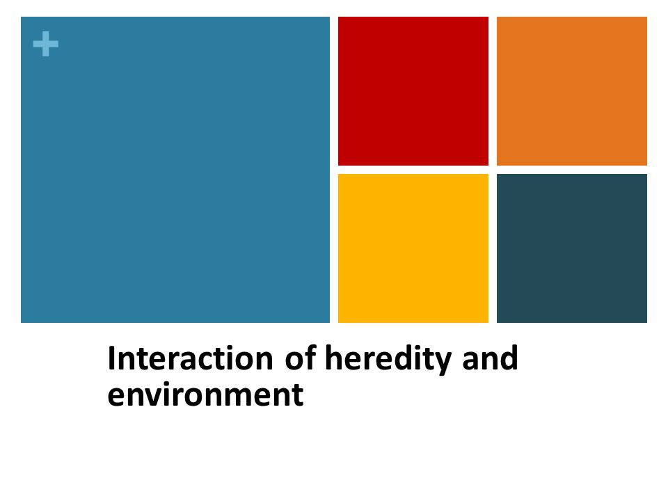 the interaction between heredity and environment Considering interactions between genes, environments, biology, and social context genetic liability to antisocial behavior is only associated with the development of adult criminality and aggression under adverse adoptive environmental conditions, indicating that neither nature nor nurture was sufficient in and of itself to cause pathology.
