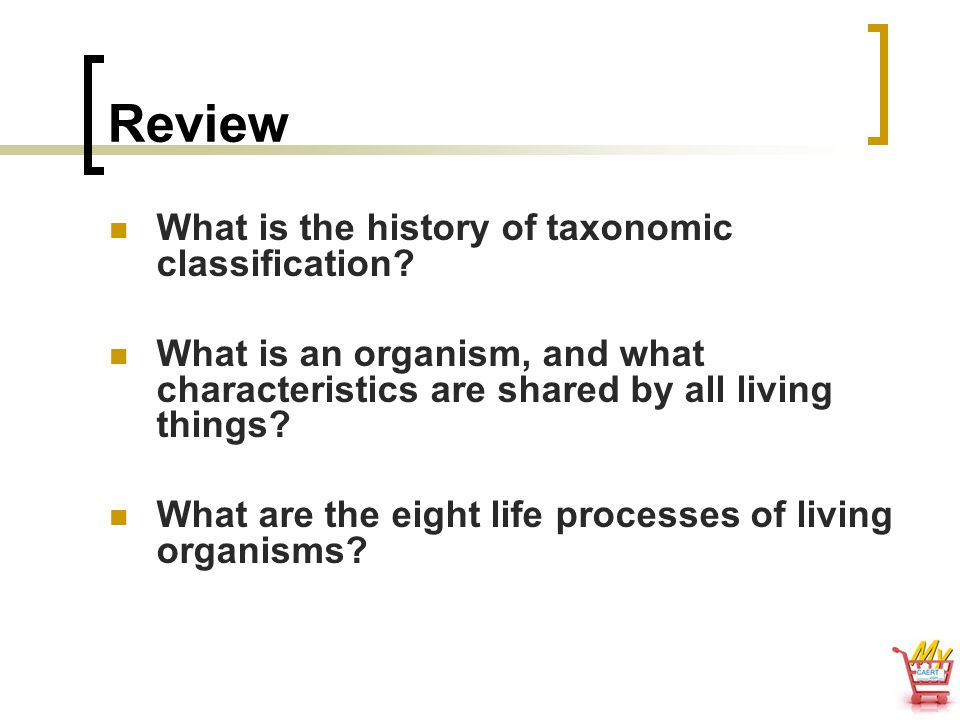 Review What is the history of taxonomic classification