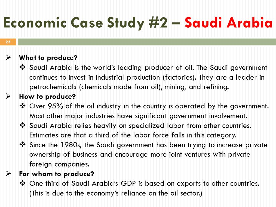 an analysis of the saudi arabian economy The economy of saudi arabia is a very interesting puzzle that worth gathering its pieces in a delicate manner the triangle of oil: production, export and revenues.