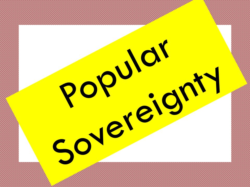 Popular sovereignty in the United States