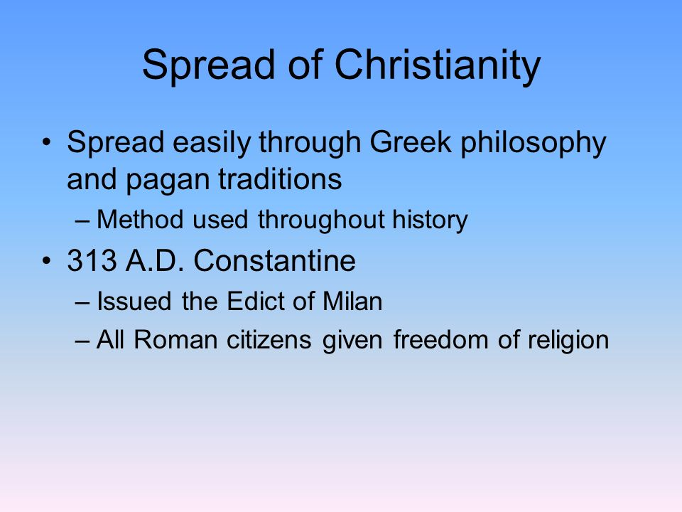 a history of the roman population and the constantines declaration of christianity Home » ancient rome » rome and christianity  within the roman empire, christianity was  the emperor constantine made christianity.