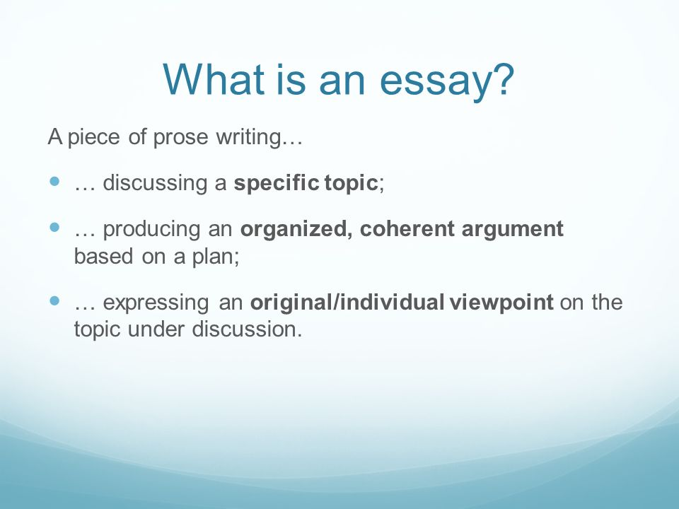 what are essays Get help with getting started on your college essay.