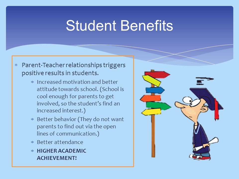 parent teacher relationship benefits both