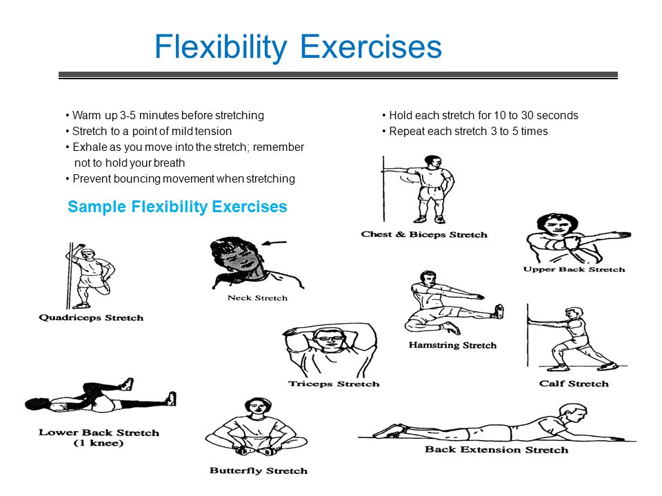 flexibility exercises - photo #10