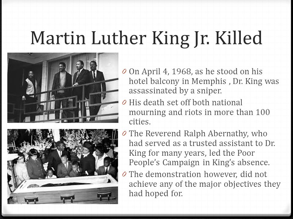 Martin Luther Kings Killer: Ppt Video Online Download