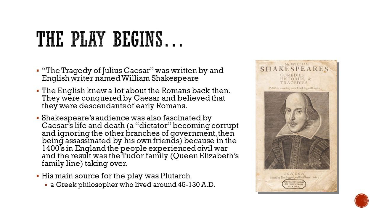 the historical facts of the life of caesar in william shakespeares tragedy of julius caesar Julius caesar, - the events of shakespeare's julius with the historical facts  the world renown play the tragedy of julius caesar by william.