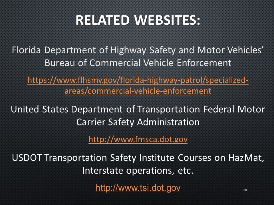 Florida dept of highway safety and motor vehicles for Florida highway safety and motor vehicles phone number