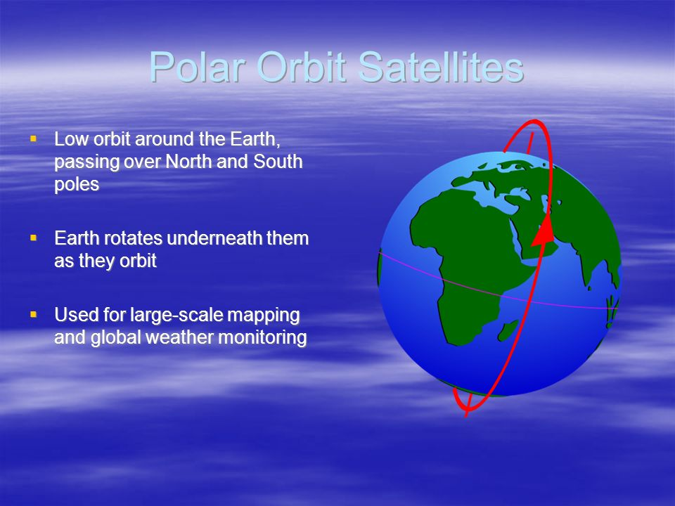 Satellites D Crowley Ppt Video Online Download - Map of satellites orbiting earth