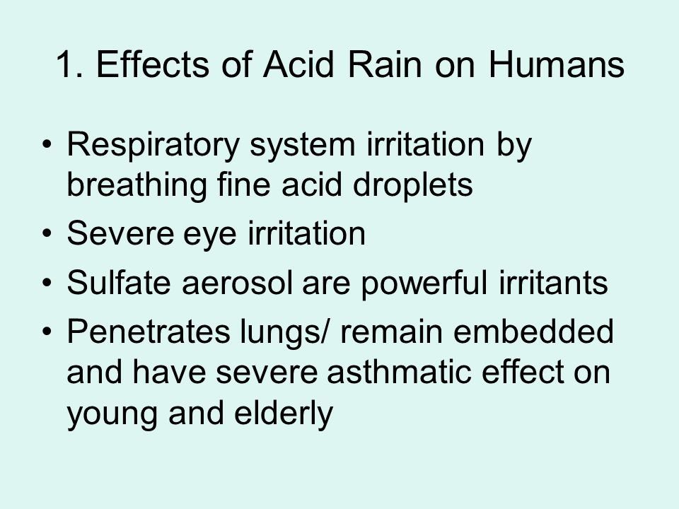E2 Acid Deposition Rain Water. - ppt video online download