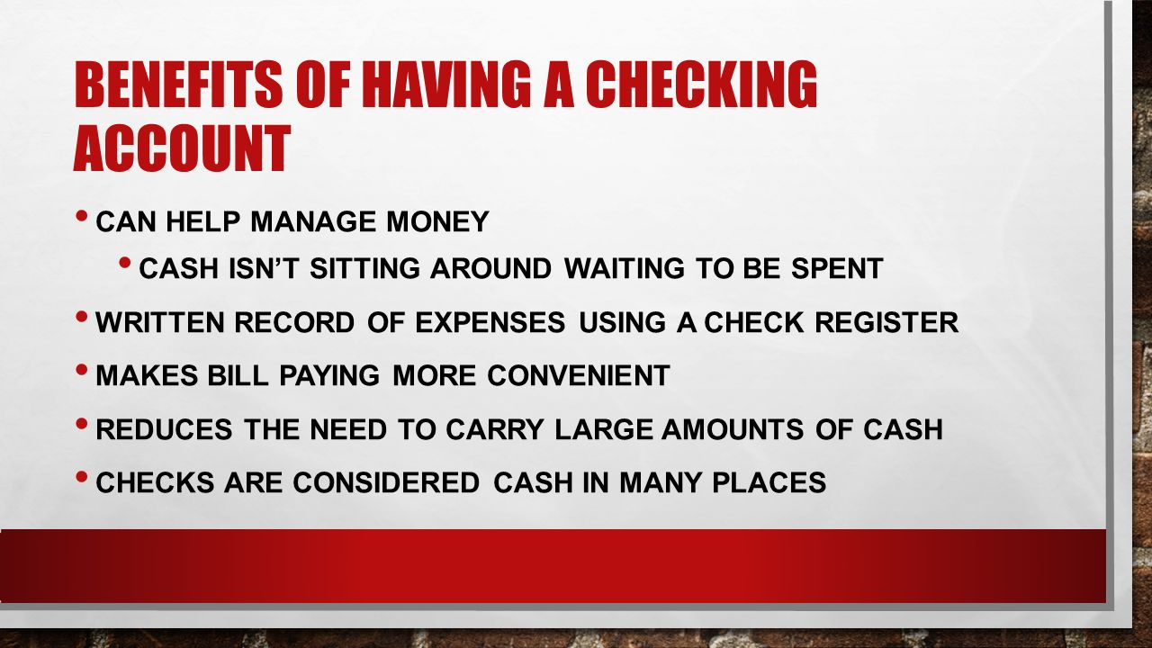 how to create a checking account