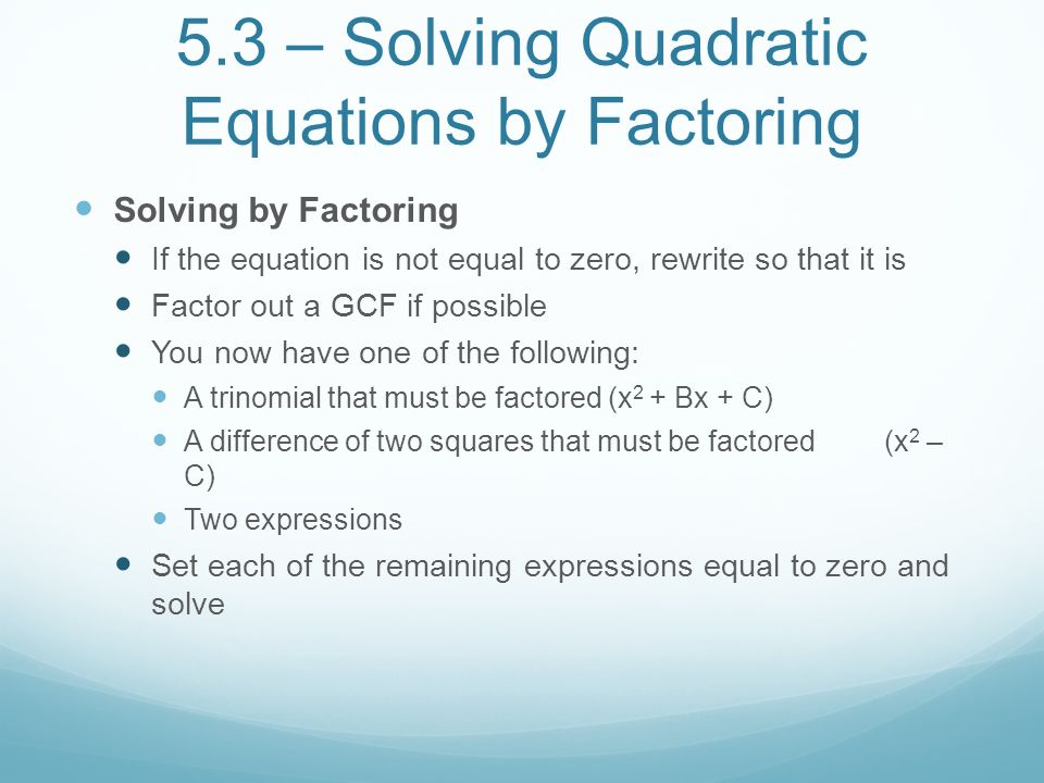 Unit 2 Quadratic Polynomial and Radical Equations and – Factoring X2 Bx C Worksheet