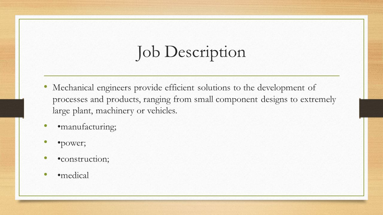 Mechanical Engineering Ppt Download