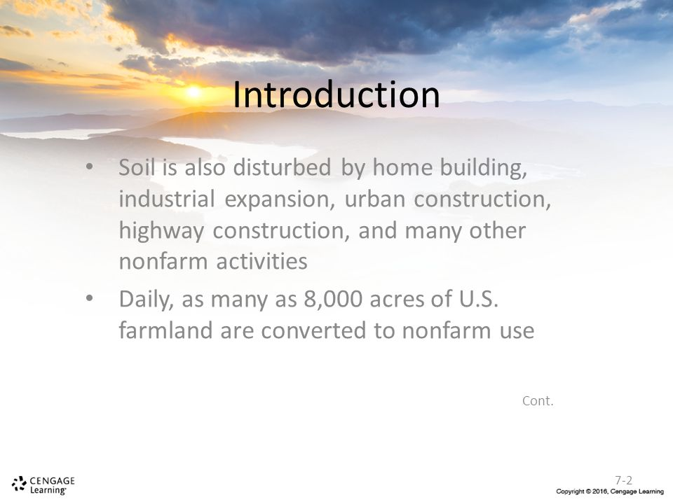 Nonfarm erosion control ppt download for Soil as a resource introduction