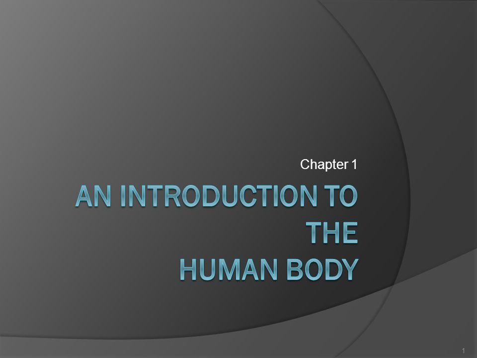 an introduction to human body Human physiology/physiology introduction from wikibooks, open books for an open world human physiology human physiology is the study of functions of the human body that can be divided into the following types: cell physiology.