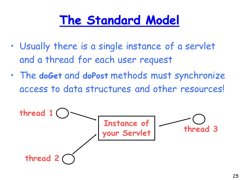 Servlet implements singlethreadmodel what is SingleThreadModel in java. How to implement in JSP –