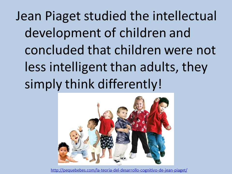 case study jean piaget Start studying sociology (ch 1-4) review learn the case study of jack and oskar provides support for jean piaget's use of the term operational is most.